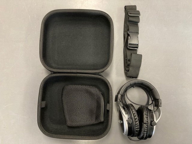 Adult SSP Headphones (includes carrying case and waist pack)